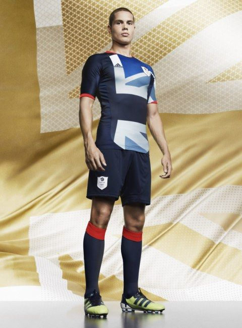 LOVE this, Team Great Britain Olympic kit. Would make a good bike jersey...
