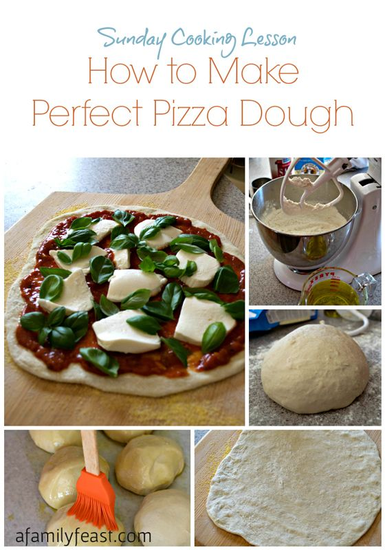 How to make perfect pizza dough - this is the best pizza dough recipe ever! Make restaurant-quality pizza right in your own home.
