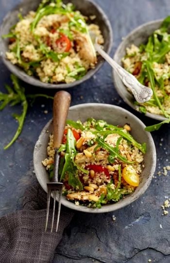 Pine Nut and Herb Couscous