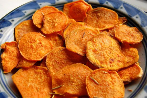 Easy Homemade Sweet Potato Chips. Tried and tested by me- the laziest of cooks