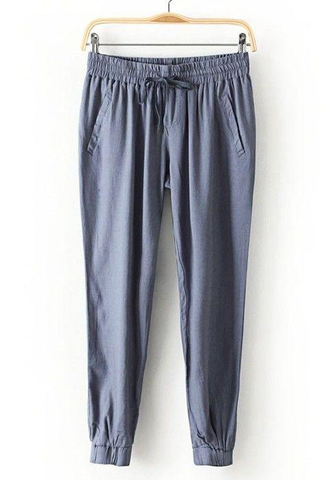 ++ Bice Pockets Seven's Linen Cotton Pants
