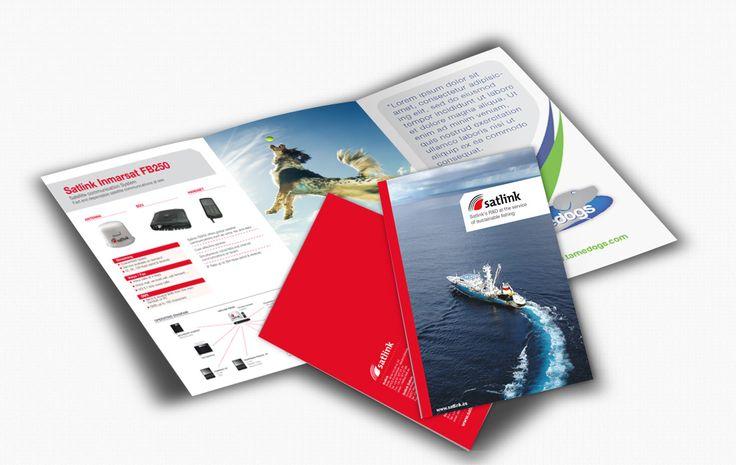 Rediseño de la imagen corporativa y creación de un sistema de iconos para los diferentes productos de Satlink. Desde su creación en 1992, Satlink se ha convertido en el principal suministrador de equipos móviles de telecomunicaciones vía satélite de España.