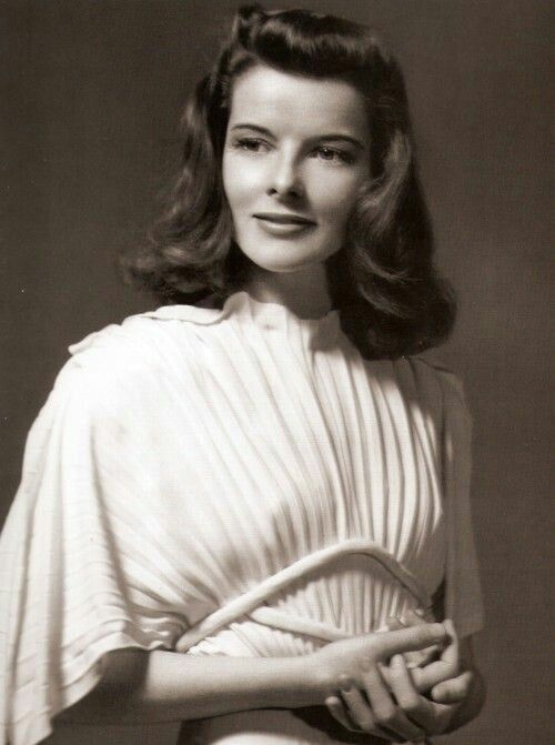 "classic-hollywood-glam: "" Katharine Hepburn """