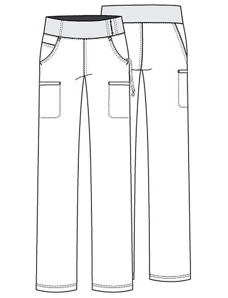gray anatomy scrub patterns for sewing | Cherokee iFlex Cargo Pant