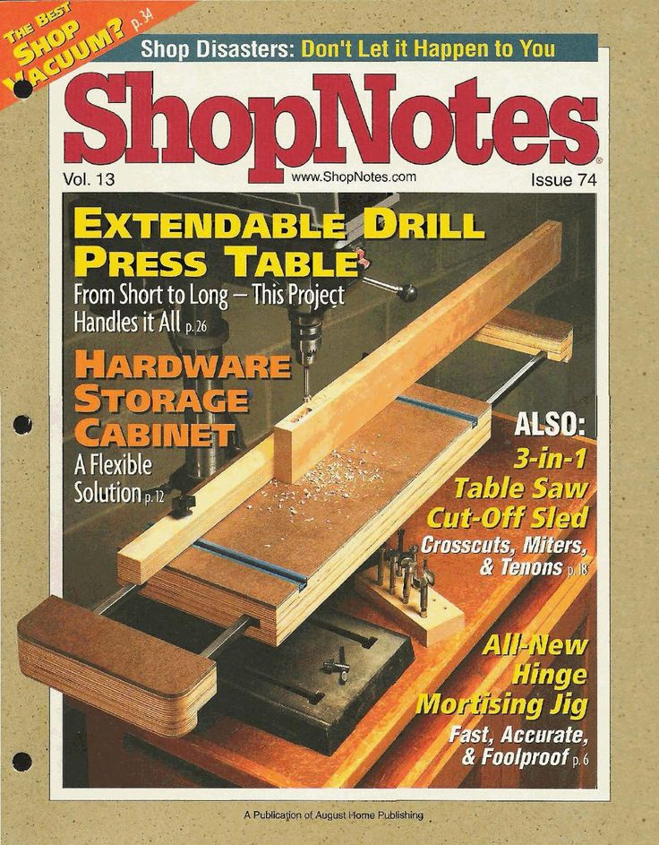 ISSUU - Shopnotes issue 74 by Adrian Kuney
