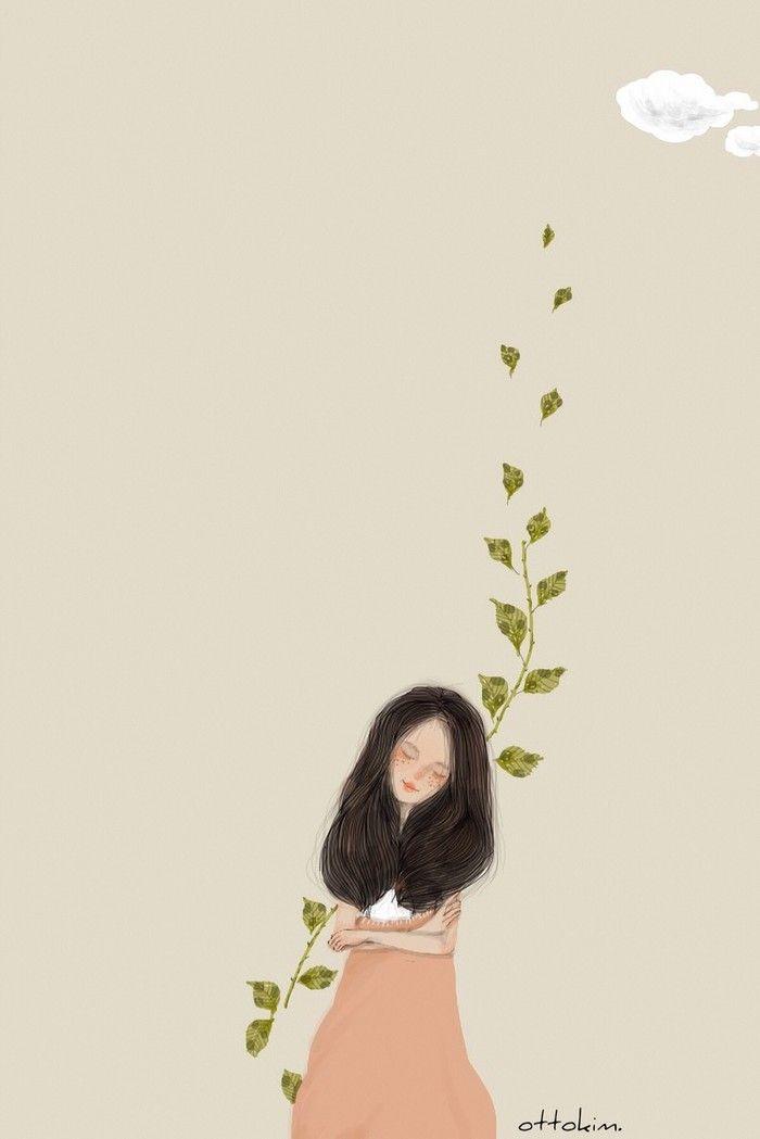 Girl Sad Love Wallpaper ภาพการ์ตูนผู้หญิงสุดน่ารัก ติดตามผลงานของนักวาดเพิ่มเติม