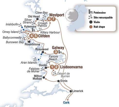 Circuit voiture Irlande : les côtes légendaires du Connemara - Brittany Ferries