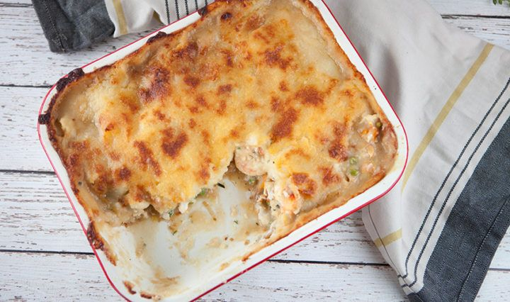 Fish Pie with Creamy Mash recipe - Everyday Gourmet with Justine Schofield