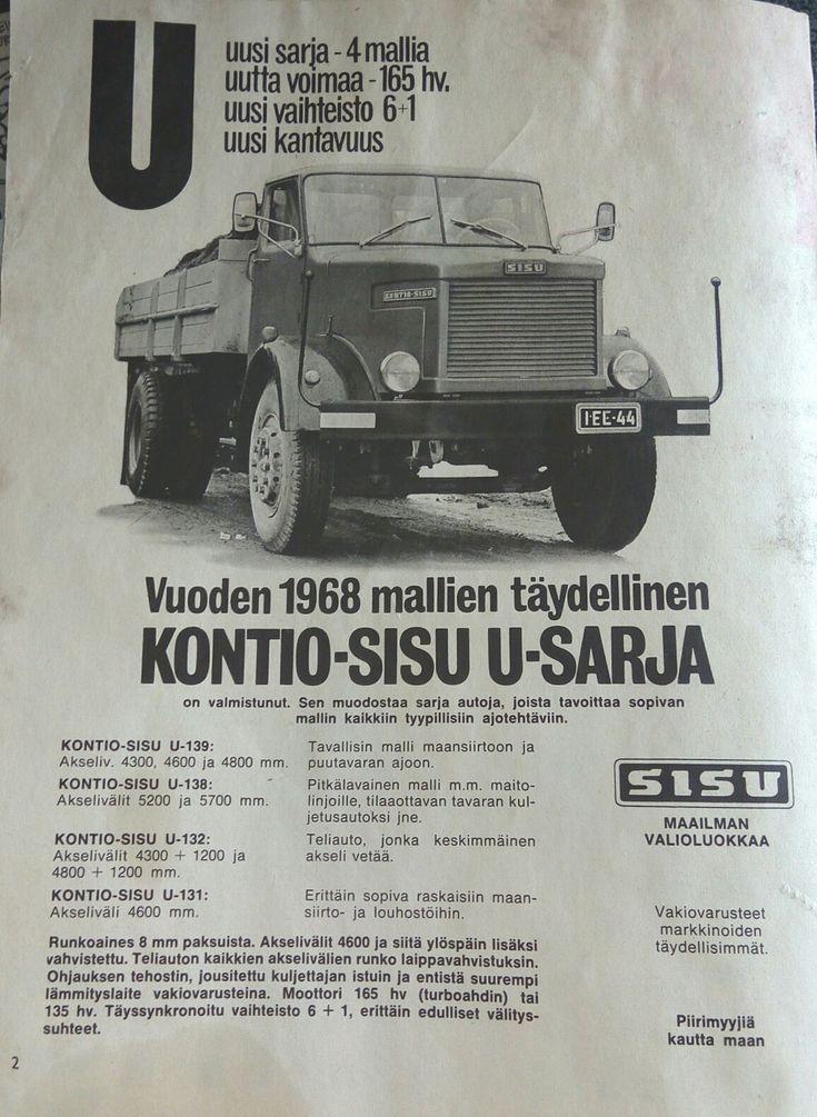 Kontio Sisu 1968 U-139