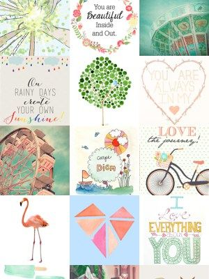 Printables Girl Room-JustBusyWithLife.com
