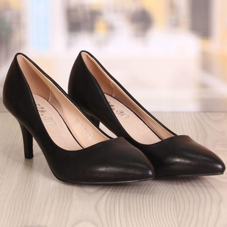 Pantofi Dama Elegance Negrii Cod: 917