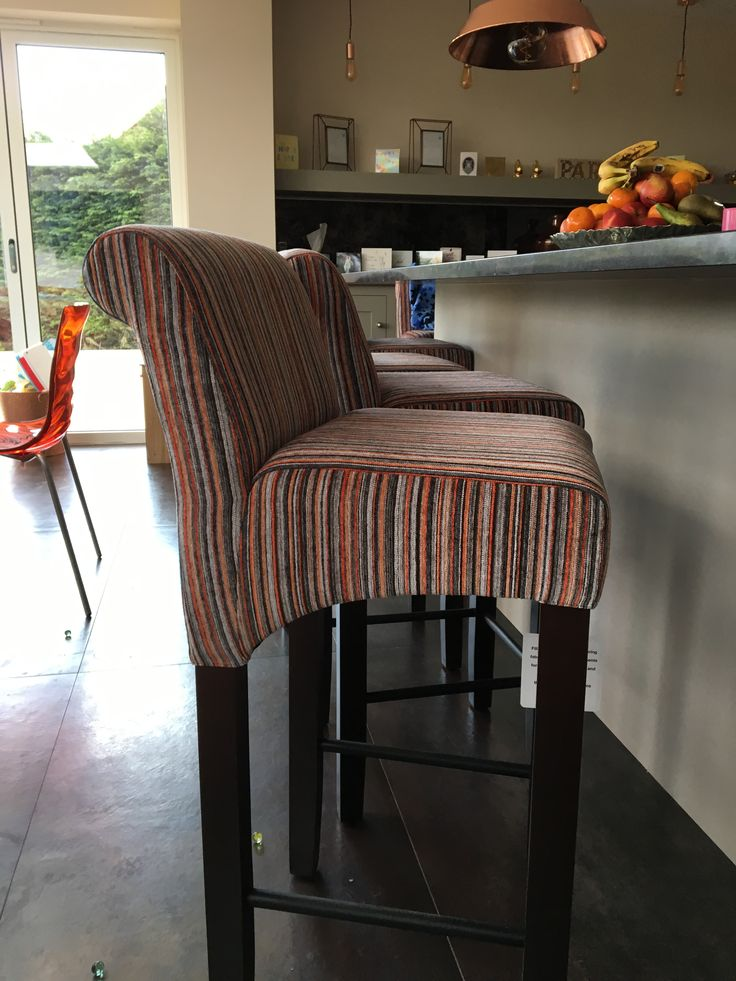 Our fabulous Putney bar stools in the  stunning Cristina Marrone fabric!  http://www.thechairpeople.co.uk/search.php?searchword=putney