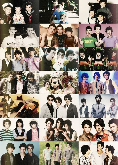 Jonas brothers there are 3 brothers name  Joe jonas ,Kevin jonas ,nick jonas there in a band they r the singer  : ) there from camprock 1  2 they do a vidoe chat live on YouTube Kevin he is married to Danielle : ) I see all of there songs on YouTube joe jonas used to date with Demi lavato but they break up : ) jonas brothers 3 brothers joe jonas ,Kevin jonas ,nick jonas : ) they do have instragam : )