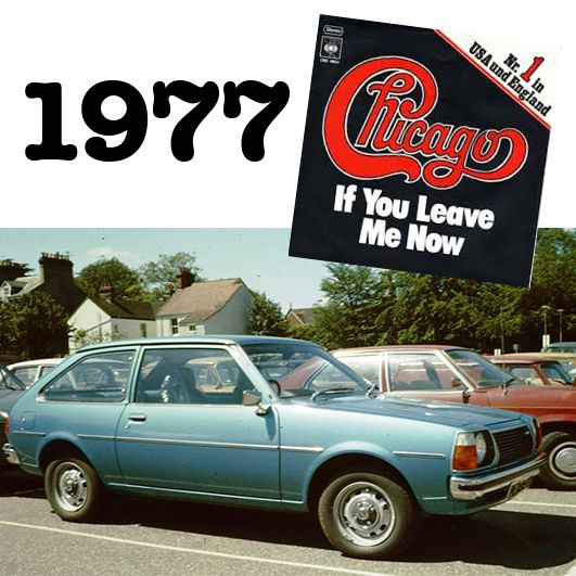 """1977 was the year of the Mazda 323 and Chicago's """"If you leave me now"""". If you haven't noticed- we love our cars and music! #hornsbyaustralia #classiccars #music"""