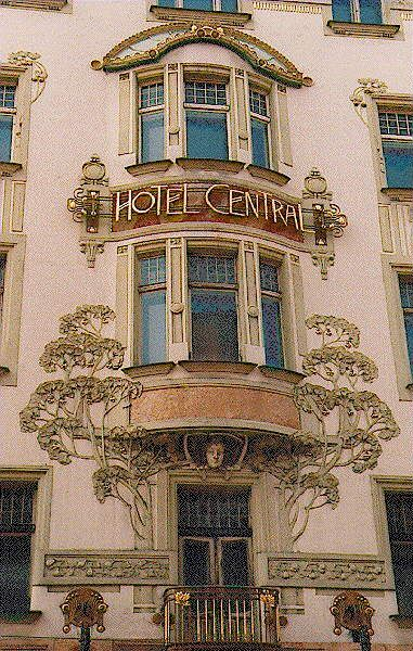 Beautiful Ambience  Art Nouveau in Prague