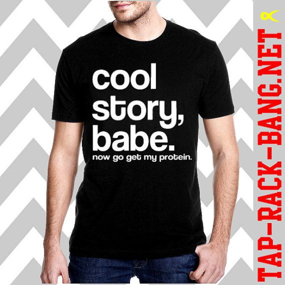 cool story s workout shirt by taprackbangnet