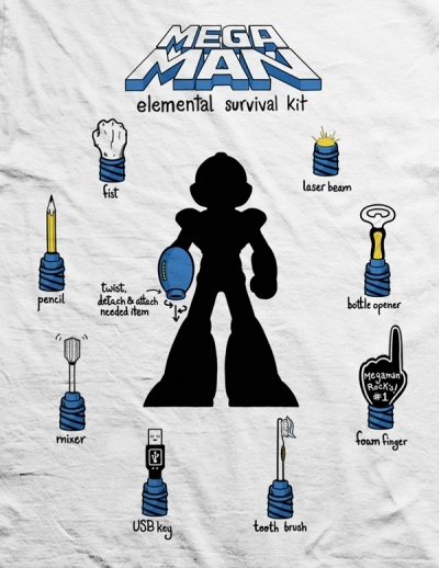 So you wanna buy this cool Megaman t-shirt? You've got only TWO more days!!!