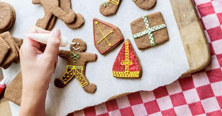 Gezellig #knutselen, #bakken en #versieren voor #Sinterklaas. Versier jouw #speculaas en maak het #Sinterklaas#feest compleet