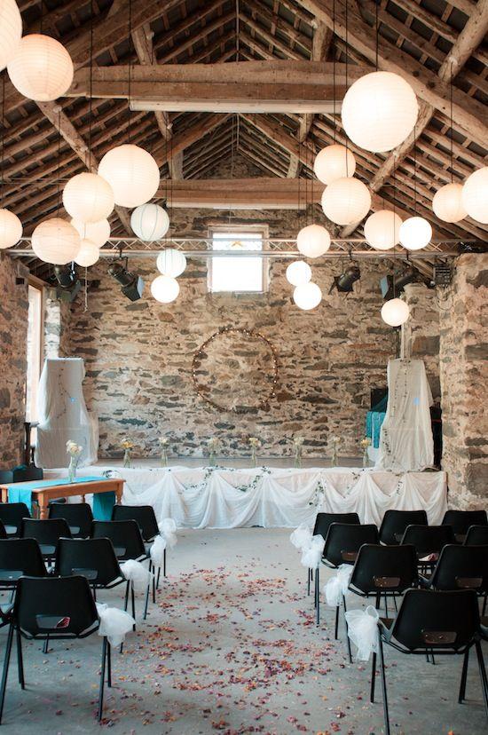 Beautiful Rustic Barn Wedding - Nia & Kaz by Lowri Pendrell (www.lowripendrell.com)