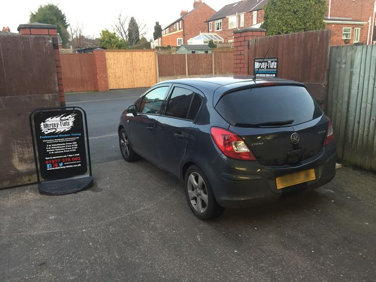 Vauxhall Corsa D in this afternoon for 5 Carbon limo