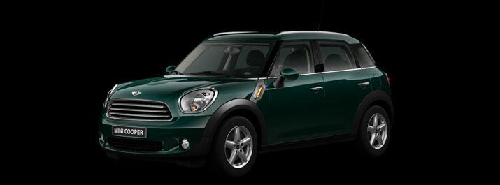Mini Cooper Countryman Oxford Green So Black Or White