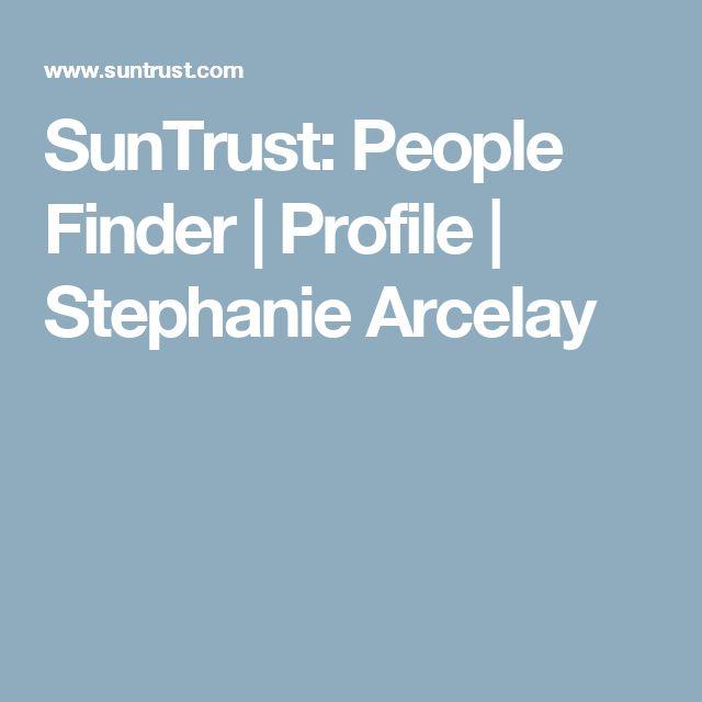 SunTrust: People Finder | Profile | Stephanie Arcelay