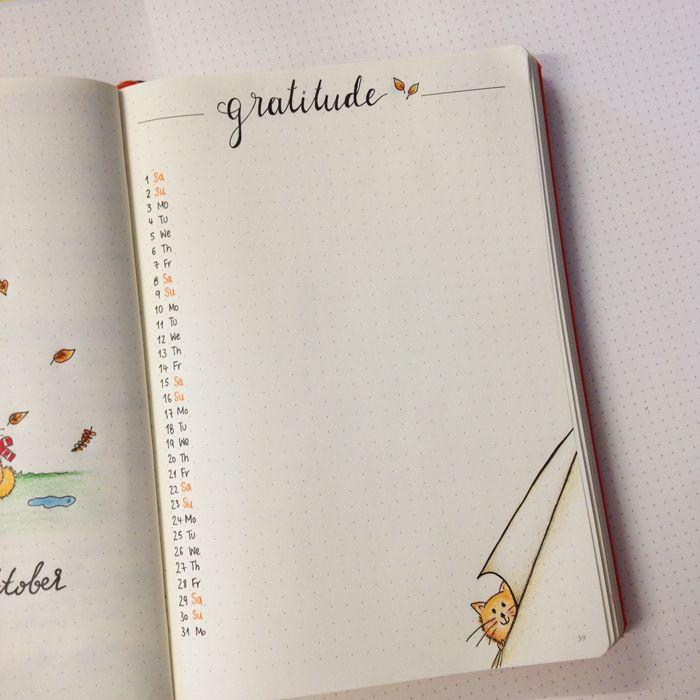 christina77star.co.uk: Bullet Journal: My October Set Up