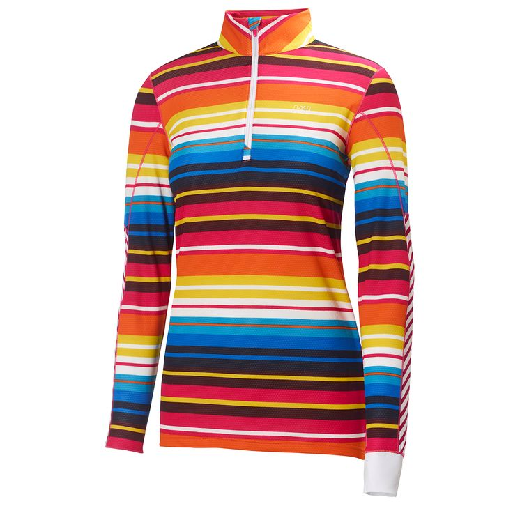 W HH ACTIVE FLOW GRAPHIC 1/2 Z - Women - Base layer - Helly Hansen Official Online Store