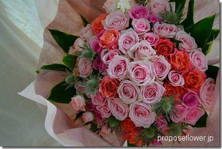 Rose bouquet プロポーズの薔薇