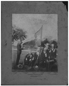 Last Known Veterans of the 1836 Texas Revolution, 1906