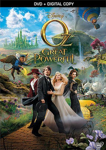 Oz the Great and Powerful (DVD + Digital Copy)  #Disney #DVD