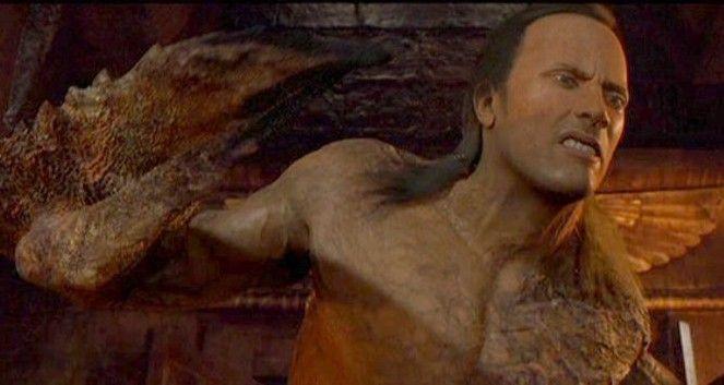 dwayne johnson scorpion king drawings | The Mummy Returns ...