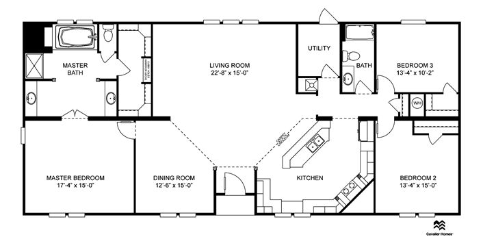 Clayton Homes | Home Floor Plan | Manufactured Homes, Modular Homes, Mobile  Home | Floor Plans | Pinterest | House, Future House And Barndominium