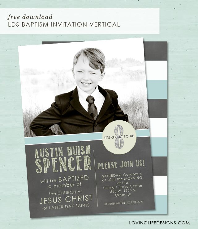 Loving Life Designs - Free Graphic Designs and Printables LDS - invitation free download