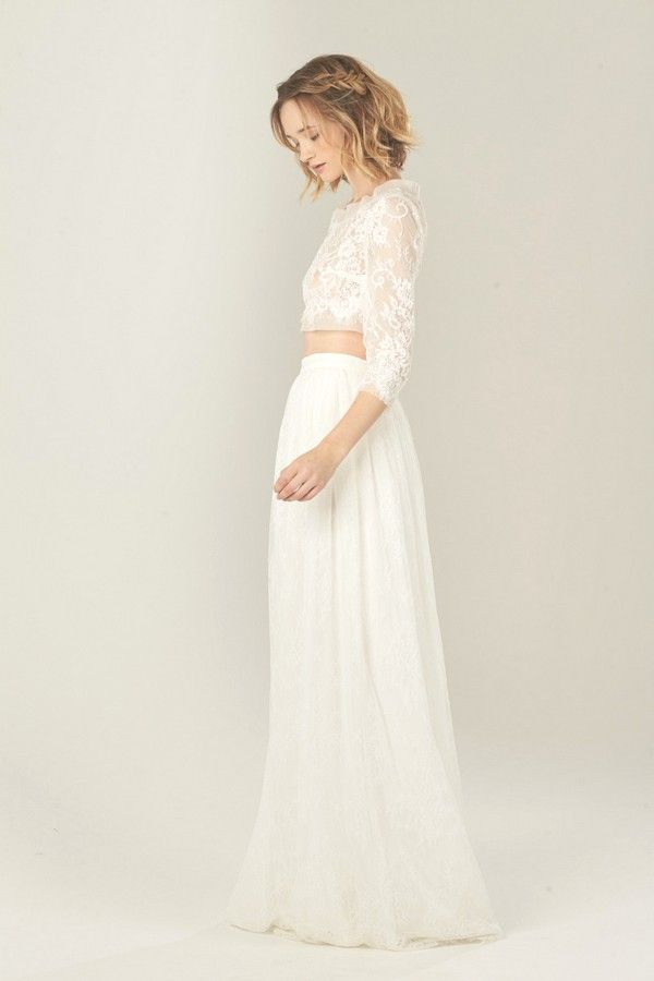 Lilac Wedding Dress by Daisy Brides | Daisy by Katie Yeung Wedding ...