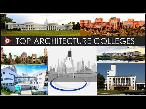 Top Architecture Colleges in India - YouTube