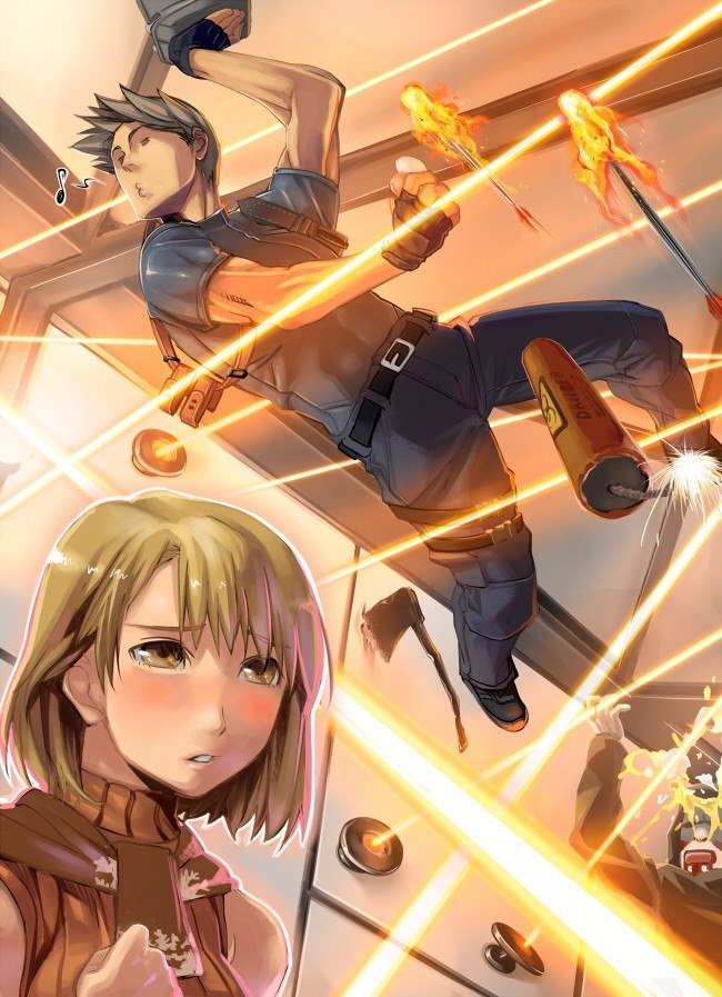 Resident Evil 4 anime.........WE ALL NEED THIS .....<3<3