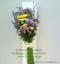 wedding decoration with candles and arrangements by flowers papadakis info@flowers4u.gr