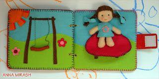 Dollhouse Quiet Book