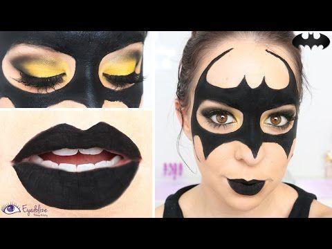 easy batman mask makeup tutorial by youtube