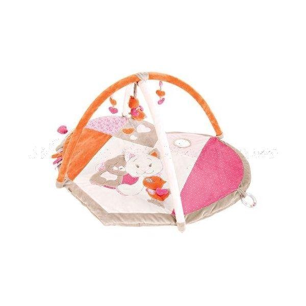 Tapis d'éveil #Iris et Babette - Noukies: un jouet d'éveil #Noukies très complet pour les premiers mois et les découvertes sensorielles.  http://www.avenuedesanges.com/fr/noukies-iris-et-babette/3741-tapis-d-eveil-5413042468878.html