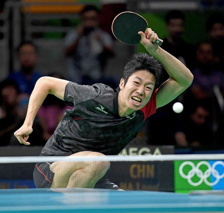 水谷は3位決定戦へ「これで終わりじゃない」世界1位の馬龍に善戦も及ばす #卓球 #リオ五輪