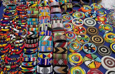 Zulu beadwork.  South Africa