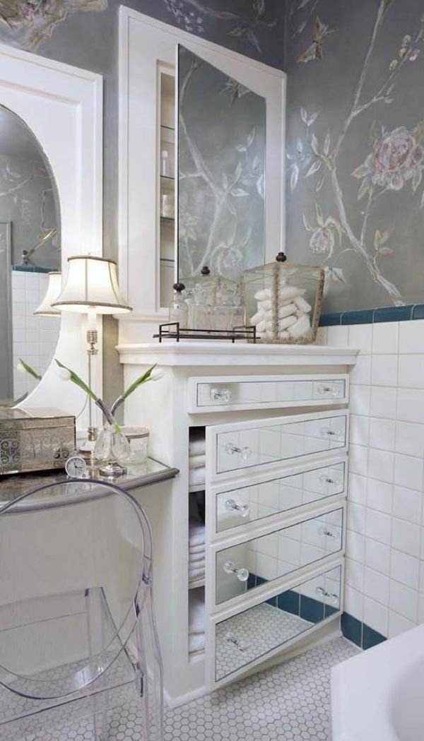 1000 images about covering glass cabinets and doors on - Bathroom storage mirrored cabinet ...