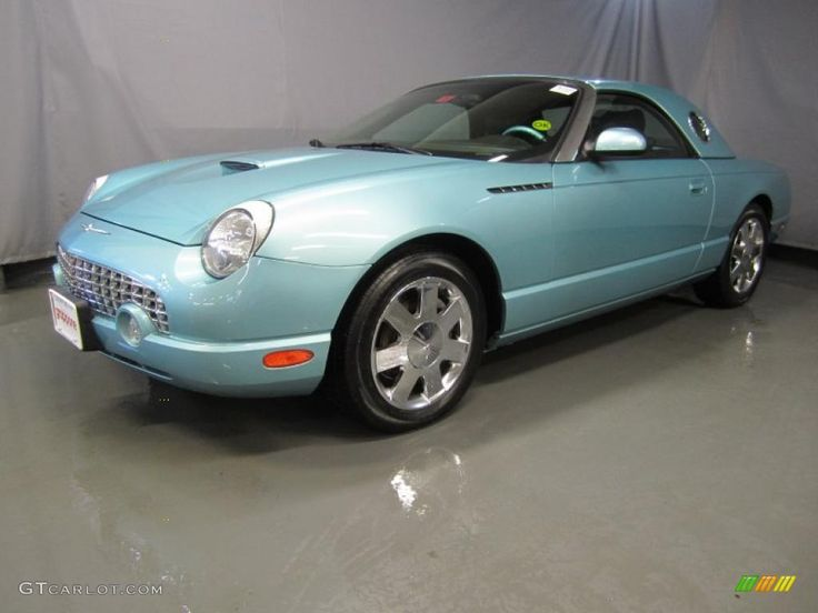 2002 Thunderbird Premium Roadster - Thunderbird Blue / Thunderbird Blue photo #1. My little baby!!