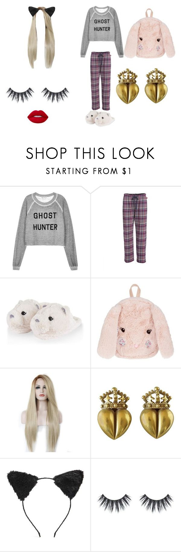 """""""pj day"""" by kennady-simmons6 ❤ liked on Polyvore featuring Wildfox, Woolrich, Monsoon, Kieselstein-Cord and Forever 21"""