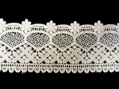 Sewing Material for Clothes Cotton Chemical Motive Lace (003) 1yard   #Ansoyoung