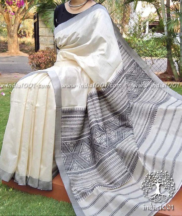 Elegant & Fine Kosa Silk Saree