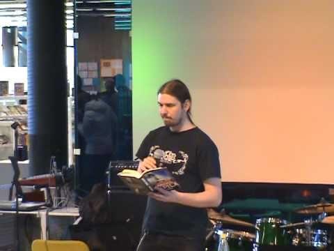 Kristian Meurman @ Entressen kirjaston avajaiset (5)