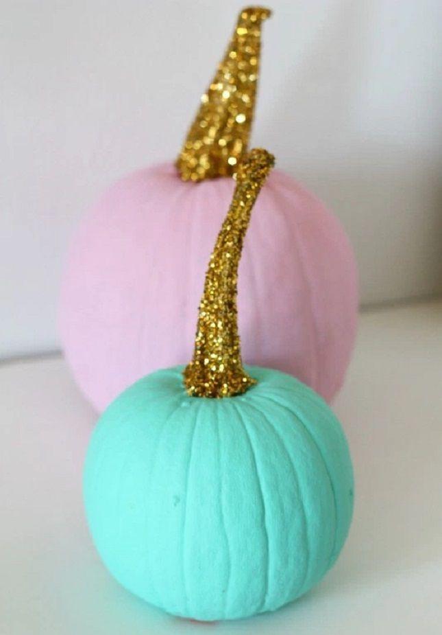 64 Creative No-Carve Pumpkin Ideas to Make This Halloween via Brit + Co.